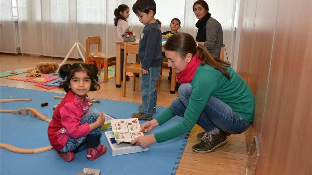 Foto Kinderbetreuuung